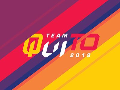 Team Quito 2018 ecuador soccer christian church athletic sports type logo mission trip
