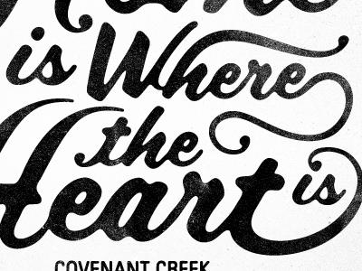 Covenant Creek Shirt shirt church type texture phrase words