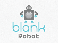 Blank Robot Logo