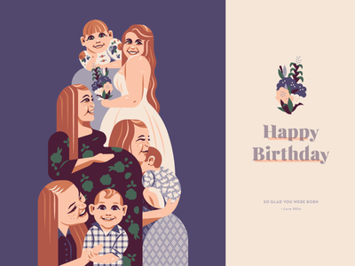 To Mom From Ollie face girl woman mother baby pregnancy pregnant hair cloths fashion smile happy life birth growing circle of life flowers floral wedding bride