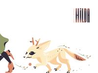 Deer-Fox