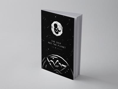 The Ship & The Planet – 4/4 typogaphy falling stars stars astronaut adult planet child space