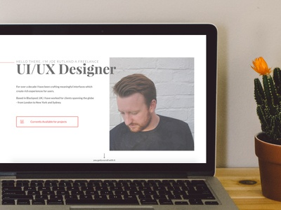 Put my new design live! :) designer ux ui freelance web design