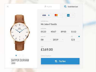 Shop Checkout UI e-commerce white blue user experience user interface flat clean shop payment ux checkout ui