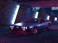 Night Parking — DeLorean