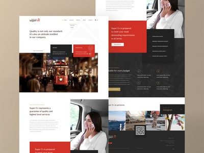 Super Ev - Homepage