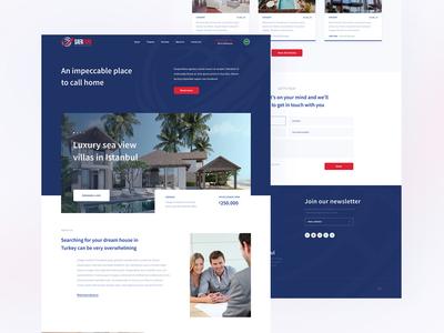 Safa Turk Real Estate Website