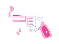 Paper girls Survival Kit (WIP) -4th : gun