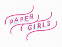 Paper girls Survival Kit logo
