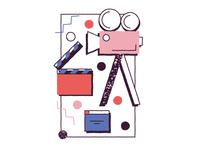 skill : motion design portfolio 80's WIP (bis2)