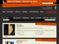 Innova Recordings Web Design 01