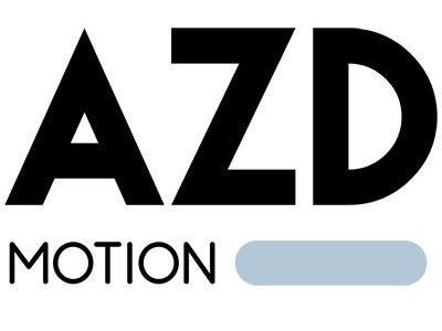 AZDmotion Logo branding azdmotion logo