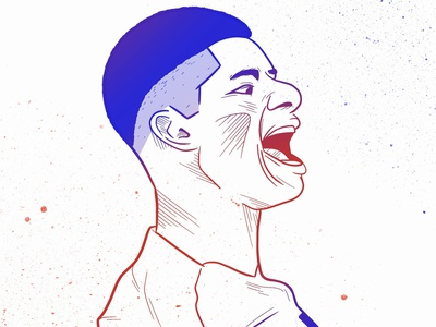 Marcus Rashford england procreate app procreate drawing footballer man utd manchester united soccer football design illustration marcus rashford