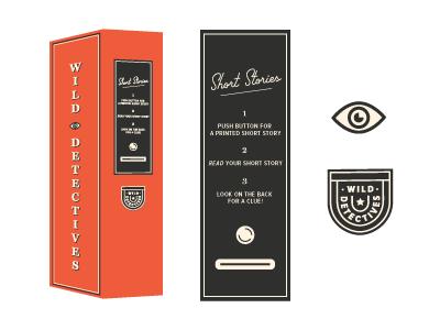 Wild Detectives Vending Machine vending machine short story