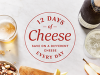 Final Logo - 12 Days of Cheese