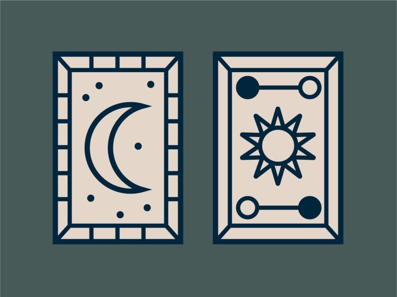 Tarot Card Icons