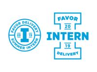 '19 Summer Intern Branding