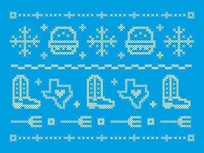 Holiday Cross-stitch