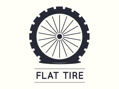 Flat Tire logo design