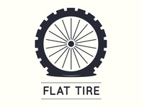 Flat Tire logo design