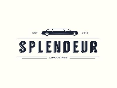 Splendeur limousines logo