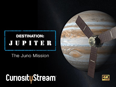 Destination Jupiter juno mission jupiter original ultra hd 4k documentaries dive deep curiositystream