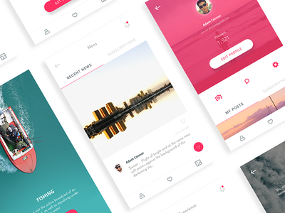 Ready App website design web ux ui responsive layout mobile interface dashboard