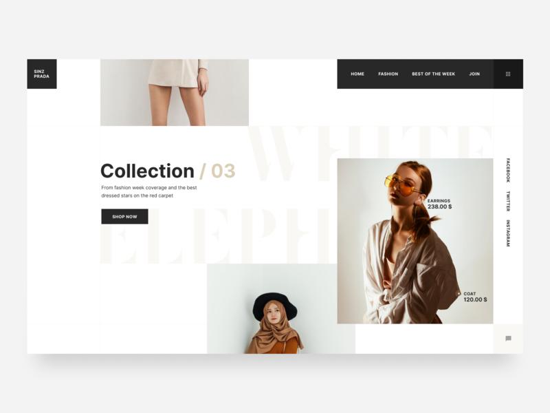 03 shoes colors responsive layout website design design shop concept ux interface web ui