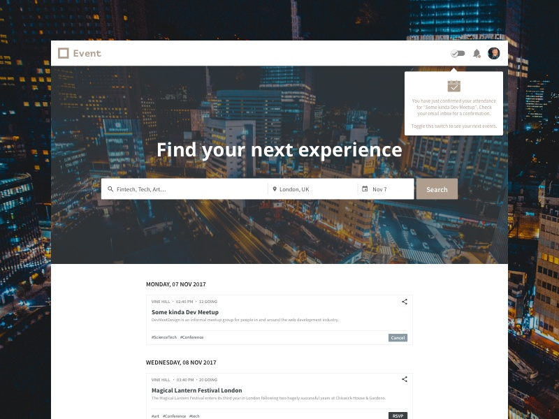 Find your next experience ux design ui design