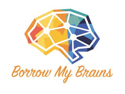Borrow my brains logo