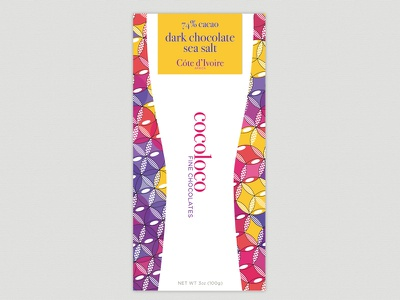 Cocoloco Front Peek chocolate colorful packaging