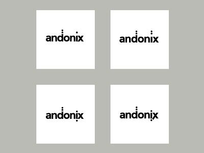 Andonix logo development logo