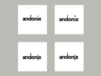Andonix logo development