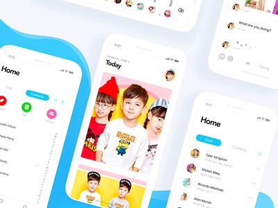 Kids Event iOS app swiping swipe kids ios gif dictionary children johnyvino x iphone cards