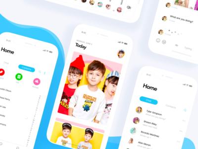 Kids Event iOS app