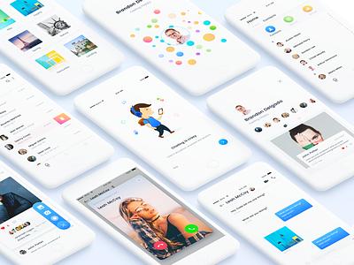 Clean Chat kit minimal clean andorid ios app ux ui chat