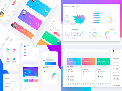 My Gradients of 2017 user ui mobile ios interface design creative color clean app