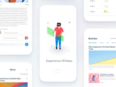 VR news vr tech stories political news microsoft ios design johnyvino fluent article ar