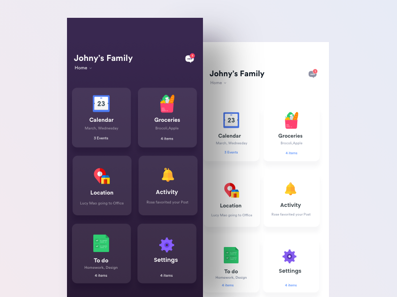 family_app Por App Home Screen Designs on home dimensions app, home page app, home search app, home security app, home phone app, home design app, voice recognition app, home control app, home style app,