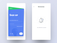 Signup and Notification