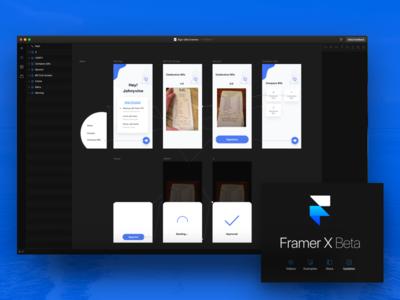Framer X Interaction