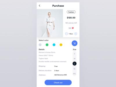 Fashion purchase