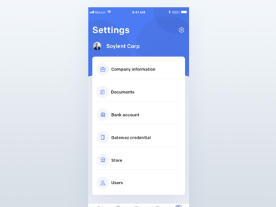 Settings finance business final fantasy finance financial finance app fin tech fin finances finance dashboard gif interaction design clean animation mobile ios ux johnyvino app ui