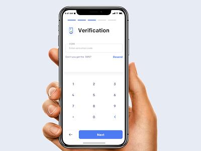 Verification food illustration iphone minimal interface interaction verification verify keyboard animation mobile ios ux johnyvino app ui