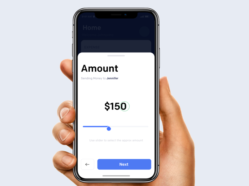 Send Money clean animation mobile ios ux app johnyvino blockchain bitcoins cash receive send amount friends split money share bitcoin budget ui