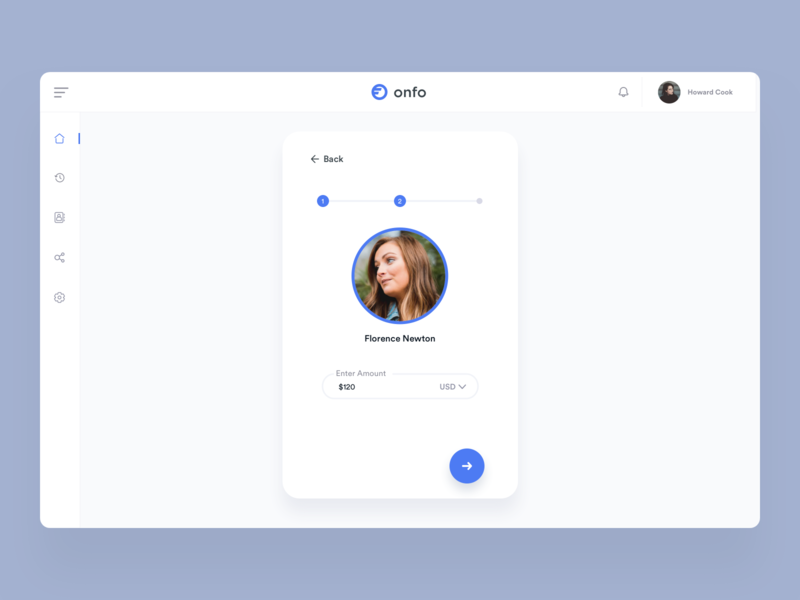 Send money to friend chat food web principle illustration iphone minimal interface dashboard gif interaction design clean animation mobile ios ux johnyvino app ui