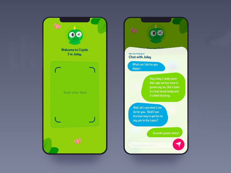 Kids App illustration iphone minimal interface gif dashboard design interaction animation clean mobile ios ux ui app johnyvino kids books ai kids app kids