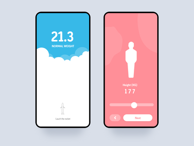 Bmi Calculator food web principle illustration iphone minimal interface gif dashboard design interaction animation clean mobile ios ux app johnyvino calculator bmi