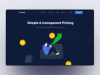 Pricing header