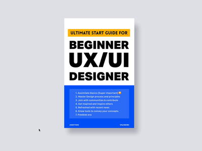 Start guide for beginner UX/UI designer. bonus: freebies era [contribute refreshed with recent news get inspired and inspire others illustration minimal interface design dashboard interaction clean animation app johnyvino